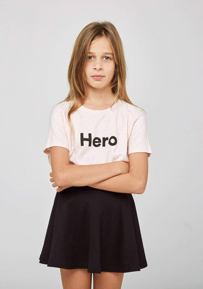Kids Hero Charity Tee Blush - Auguste The Label