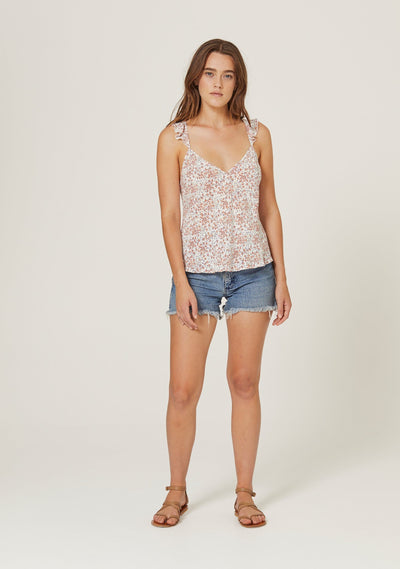 Gemima Isla Cami Off White - Auguste The Label