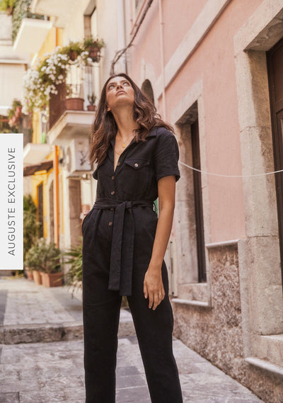 Patty Jumpsuit Black - Auguste The Label