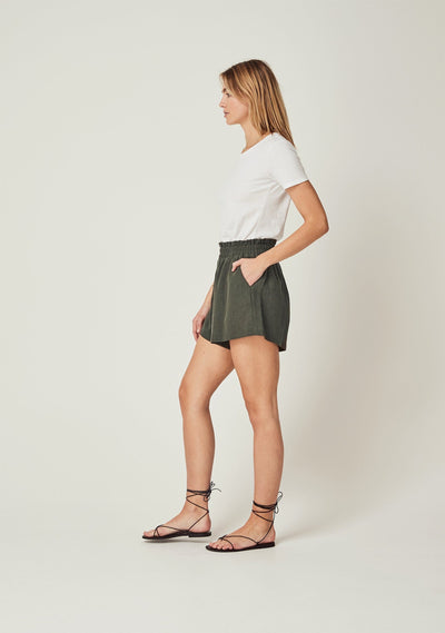Peggy Short Khaki - Auguste The Label