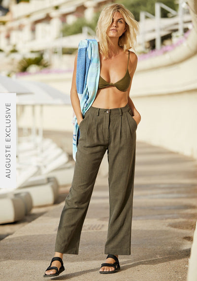 Patty Pant Khaki - Auguste The Label