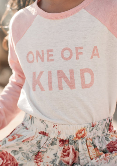 One of a Kind Long Sleeve Tee Blush - Auguste The Label