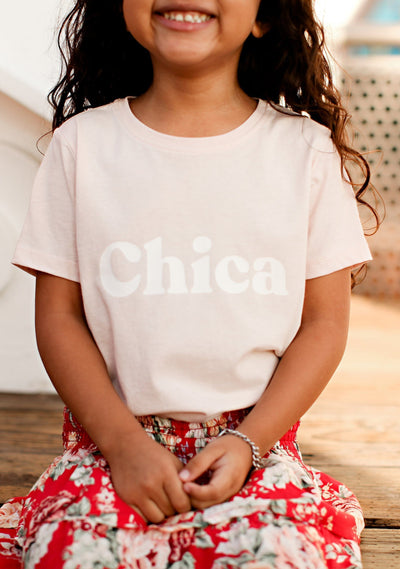 Chica Tee Blush - Little Auguste
