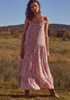 Thelma Adrian Strap Maxi Dress Pink - Auguste The Label