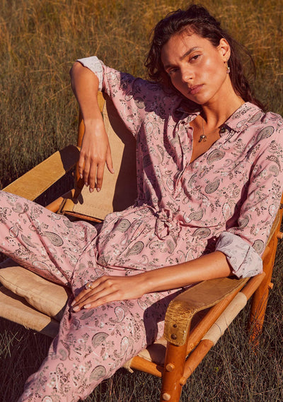 Thelma Vail Boilersuit Pink - Auguste The Label