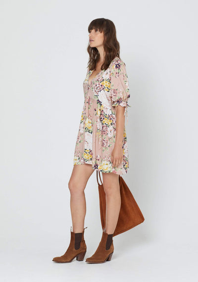 Sadie Piper Mini Dress Blush