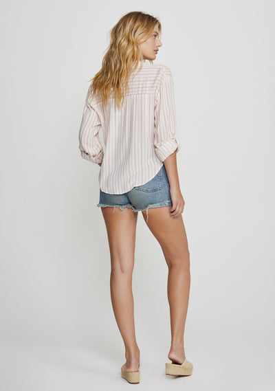 Martin Boyfriend Shirt Blush - Auguste The Label