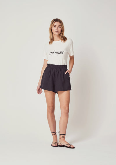 Mi Amor Tee White - Auguste The Label