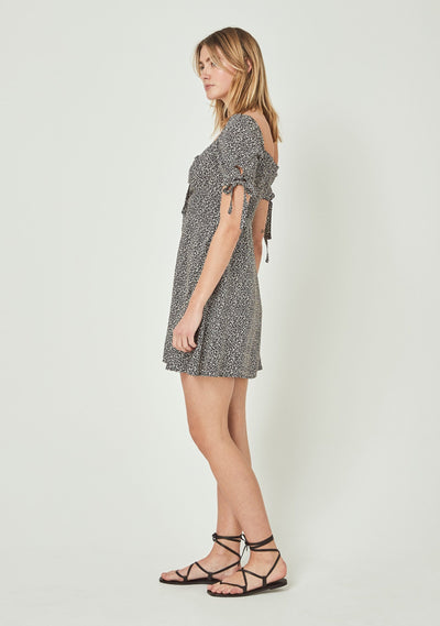 Hazel Brae Mini Dress Black - Auguste The Label