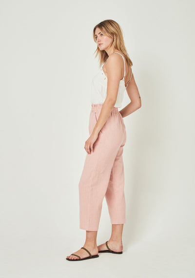 Peggy Pant Pink - Auguste The Label