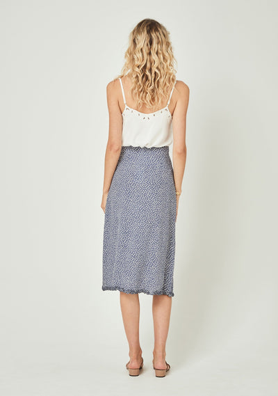 River Della Midi Skirt Lavender - Auguste The Label