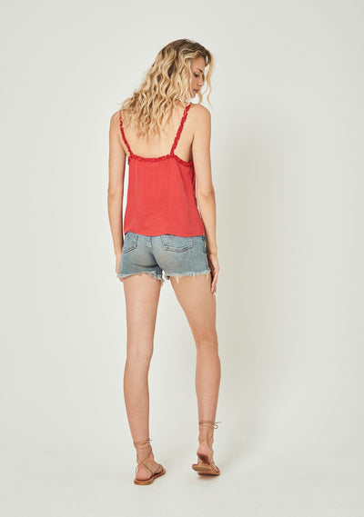 Honey Camisole Red - Auguste The Label