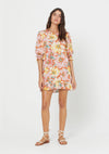 Sunset Lila Mini Dress Blush