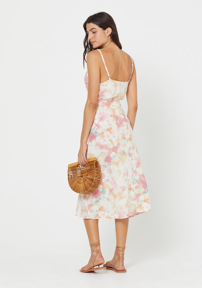 Lumi Keepsake Midi Skirt Off White - Auguste The Label