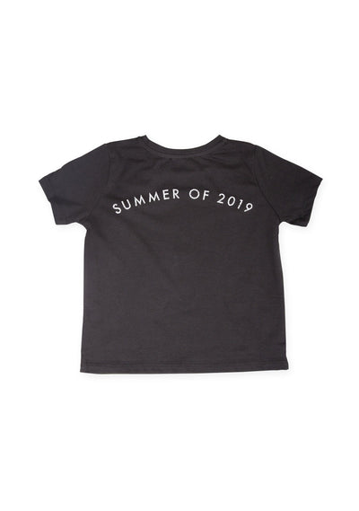 Summer Of 2019 Tee Washed Black - Little Auguste