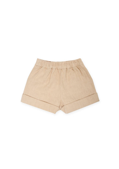 Twiggy Embroidered Short Oat - Little Auguste