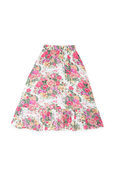 Provence Lola Midi Skirt Natural - Little Auguste