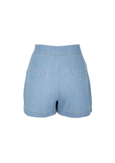 Zae Short Chambray Blue - Auguste The Label