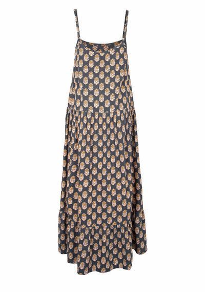 Harmony Leni Maxi Dress Black - Auguste The Label