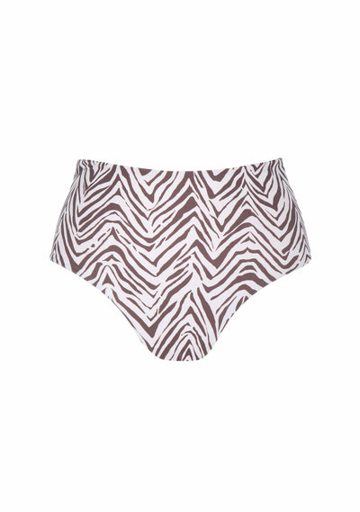 Zani Cameron High Waisted Bottom Parchment - Auguste The Label