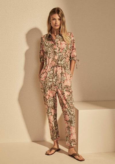 Dusk Tyler Boiler Suit Khaki - Auguste The Label