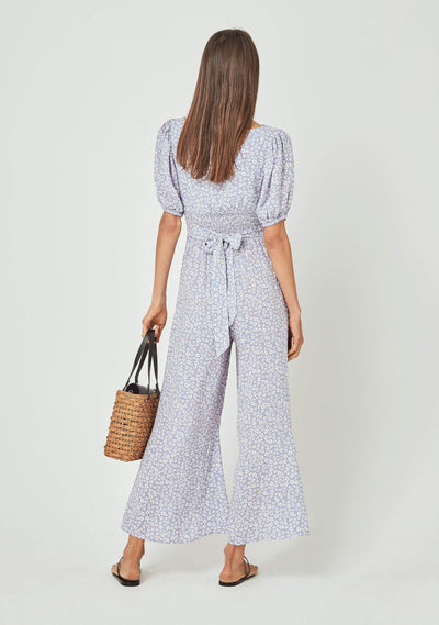 Dean Juliette Jumpsuit Baby Blue - Auguste The Label
