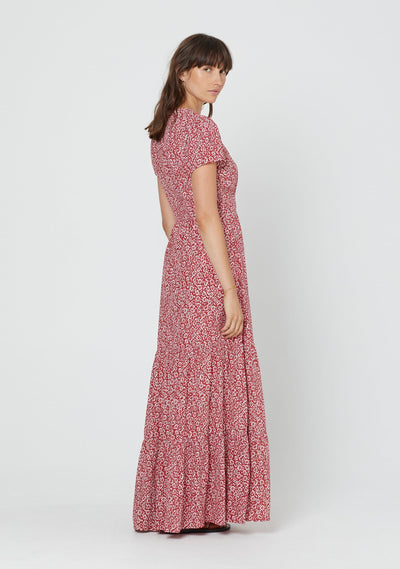 Marlowe Bella Maxi Dress Red - Auguste The Label
