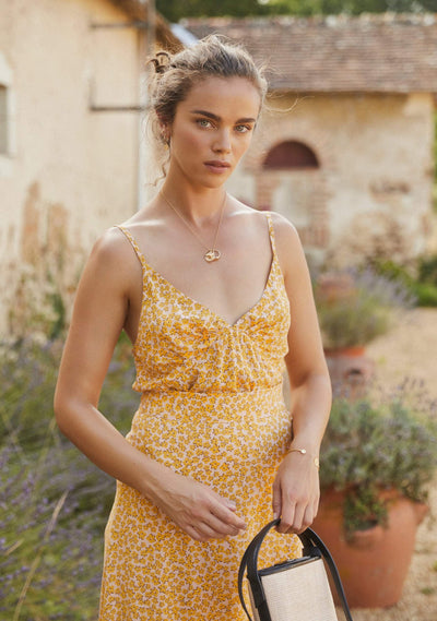 Dean Keepsake Cami Yellow - Auguste The Label