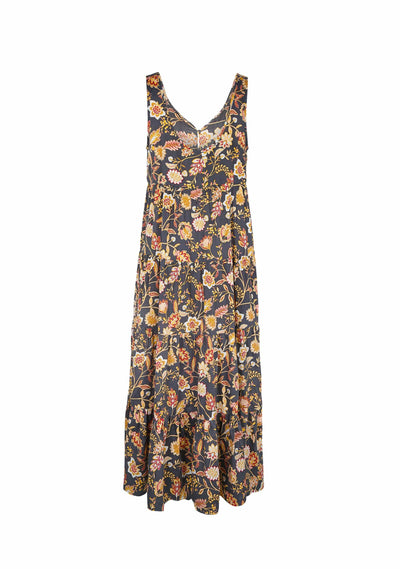 Roamer Beachside Maxi Dress Black - Auguste The Label
