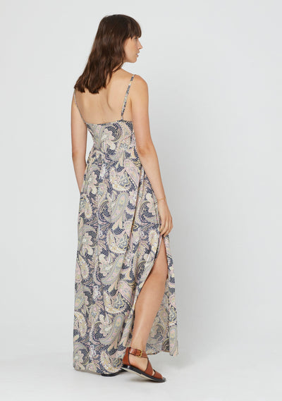 Shawls Roxy Maxi Dress Navy - Auguste the Label