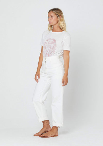 Blaire Pant White  - Auguste The Label