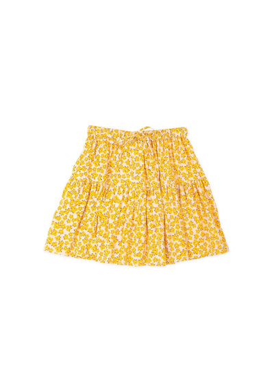 Dean Little Miss Mini Skirt Yellow - Little Auguste
