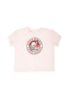 Eagles Boxy Tee Dusty Pink - Little Auguste
