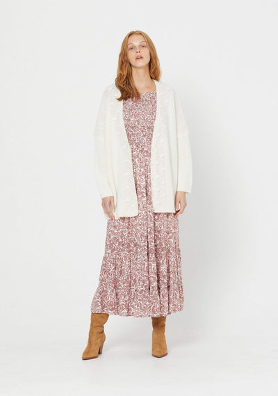 West Cardigan Ivory - Auguste The Label