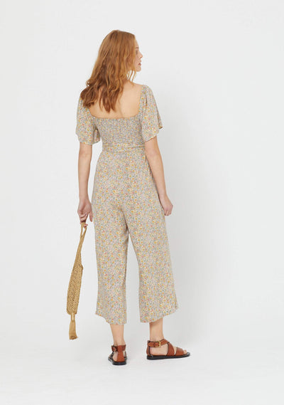 Josie Molly Jumpsuit Mint - Auguste The Label