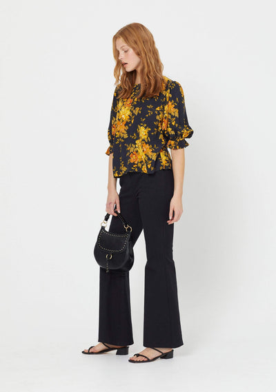 Devon Maggie Blouse Black - Auguste The Label