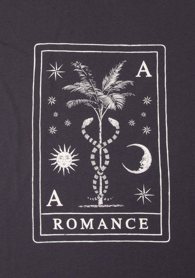 Tarot Tee Washed Black - Auguste The Label