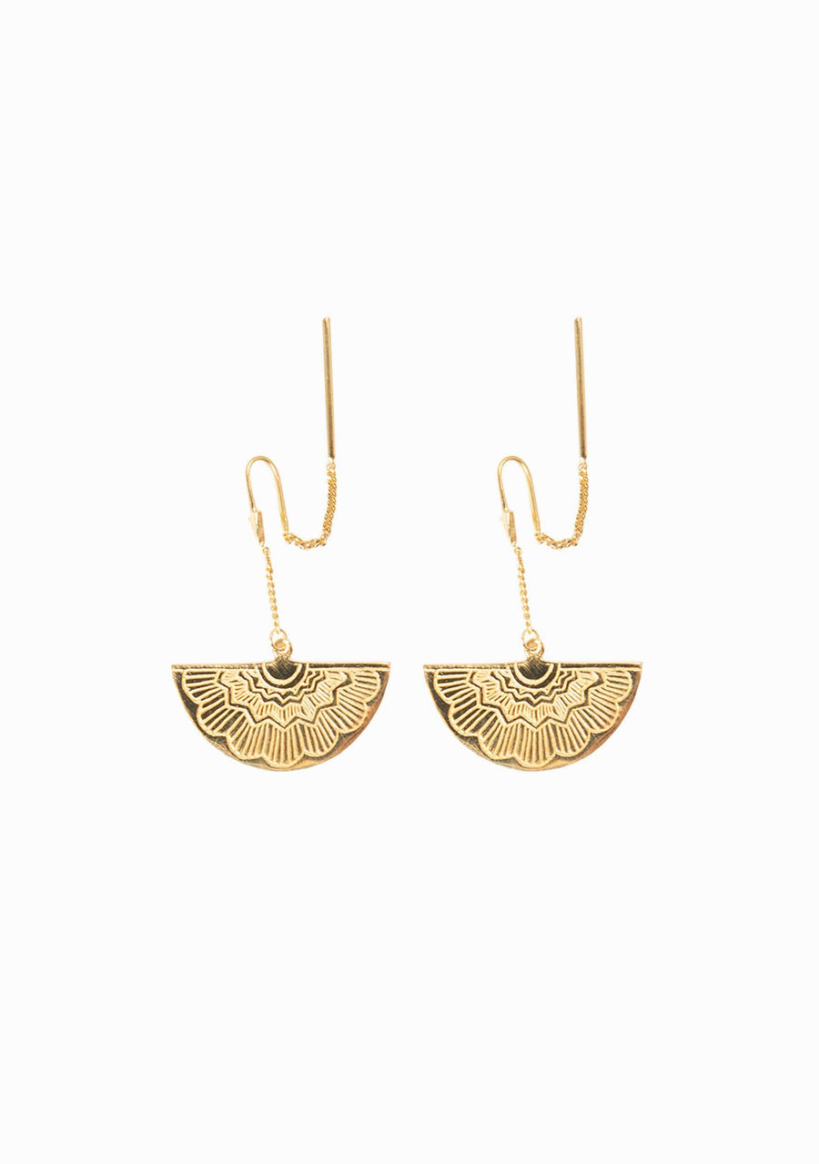 TIGER FRAME Egyptian Earring - Auguste The Label
