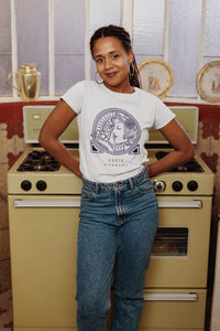 Alessia Earth Goddess Organic T-shirt