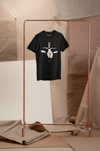 Load image into Gallery viewer, Nude Earth Dance Organic T-Shirt Black