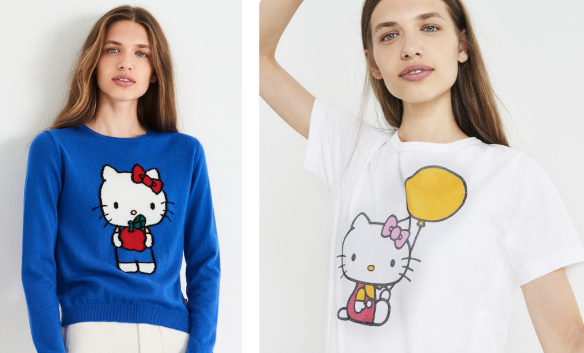 7a3c61e0d Hello Kitty is Here! Chinti & Parker Exclusive Collaboration ...