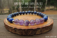 Amethyst and Lapis Lazuli from RockMyZen.com