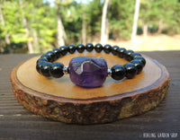 Amethyst and Tourmaline for Empath Protection by RockMyZen.com