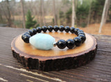 Empath Protection with Aquamarine and Black Tourmaline by RockMyZen.com