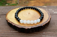 Blue Chalcedony and Black Tourmaline for Protection by Rock My Zen