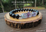 Fluorite and Black Tourmaline for Mercury in Retrograde Protection by RockMyZen.com