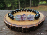 Dainty Mercury in Retrograde Protection with Fluorite and Black Tourmaline