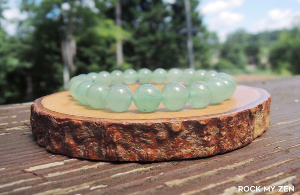 Green Aventurine Bracelet by Rock My Zen