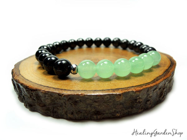 Green Aventurine and Black Tourmaline for Stress Relief