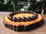 Garnet Bracelet for Love and Passion